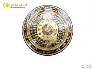 Đồng hồ trống đồng, quà tặng đồng hồ mặt trống đồng Đông Sơn