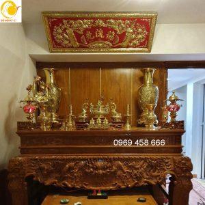 bàn thờ gia tiên và cách bày trí trên bàn thờ